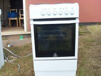 indesit electric cooker 500mm width