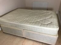 Double bed and mattress- fantastic condition