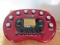 Line 6 Pod X3 desktop recording interface, amp simulator, FX