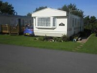 8 3berth caravanto let at saundersfoot3bedrooms ch.dg.power shower