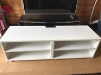 Brand new white tv stand