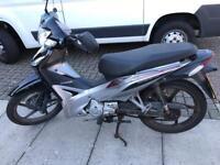 Honda wave 110cc 14 reg 2014 silver/black