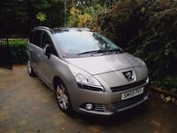 Peugeot 5008 Exclusive 1.6 hdi low mileage 7 seater
