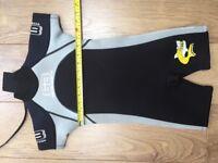 Kids Banana Bite shortie wetsuit