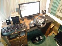 Tracer Zonda Racing Steering Wheel PC/PS2
