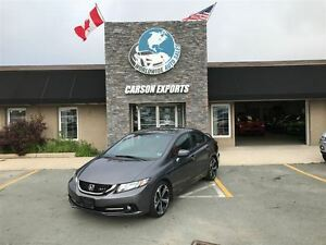 2014 Honda Civic Sedan LOOK SI LOW KM! FINANCING AVAILABLE!