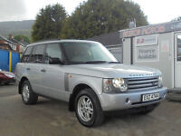 2002 RANGE ROVER VOGUE AUTOMATIC,,TV,SAT/NAV,FULLY LOADED .FULL MOT TODAY 1/6/17.FINANCE AVAILABLE..