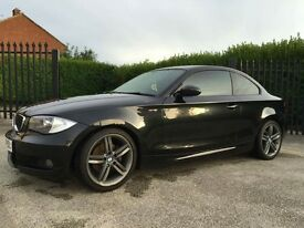 BMW 1 series coupe M-SPORT 120d