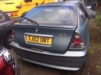 BMW 318 COMPACT SPORT 2002 £300