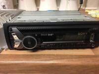 Sony DAB single CD player with built in parrot Bluetooth