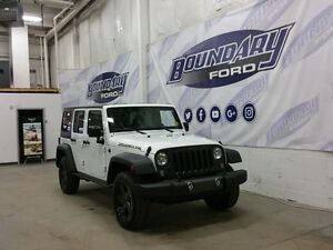 2016 Jeep Wrangler Unlimited Sport W/ Convertible Roof