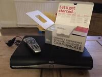 500gb sky hd box remote and rooter
