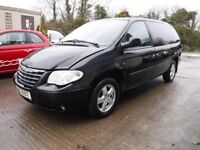 2007 Chrysler Grand Voyager Executive 2.8 CRD 7 Seater *** damaged repairable ***