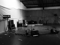 Permanent band rehearsal space with 24 hour secure access and storage. Based in meanwood.