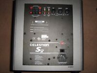 Celestion S8 Active Subwoofer and sony speakers for sale.