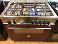 BURTAZONI GAS RANGE COOKER 90CM EX DISPLAY RRP £1499