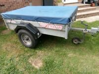Wessex Galvanised Builders Trailer Very Good Condition