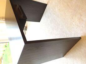 BRAND NEW Dark Bown Wooden Desk With Draw.