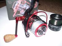 lineaffe red strike spinning reel