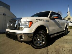 2010 Ford F-150 Lariat + 4X4 + COUVRE-BOITE + MARCHE-PIED + BAS