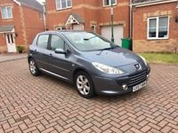 2008 PEUGEOT 307 1.6, MILEAGE 56000, 1 KEEPER ONLY, MOT OCT 2018, AIR CON, HPI CLEAR