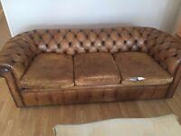Original Vintage 1970s Chesterfield Sofas