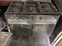 Catering Commercial 6 Burner Cooker