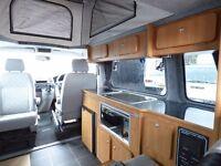 VW T5.1 2010 Campervan Pop Top garaged 4 Berth 70k Captain Seats T5 Van - Reading London