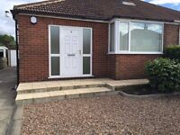2 bed bungalow with large gardens and garage at West Farm Avenue, Middleton, LS10 3SQ £169,000 O.N.O