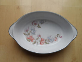 DENBY ENCORE SWEET PEA OVAL OVEN SERVING DISH