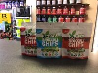 X50 Broccoli Chips THE HEALTHY CHIP – NEW GUILT FREE SNACK