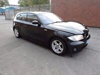 BMW 1-SERIES 118D SPORT E87 BLACK BREAKING SPARES PARTS SALVAGE
