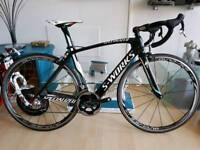 SPECIALIZED S-WORKS VENGE 52CM FULL SRAM RED DURA ACE CARBON WHEELS ZIPP BARS 7K NEW SELL 2450 ONO
