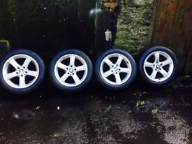 17 inch BMW alloys like new fits vivro vans to and BMW