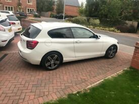 BMW 118d SPORT ALPINE WHITE 62reg