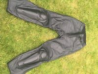 Dainese Leather Ladies Motorbike Trousers