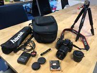 Canon 70D Digital SLR Camera - Great Bundle! Perfect for Xmas!