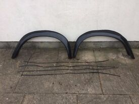 Landrover wheel arches