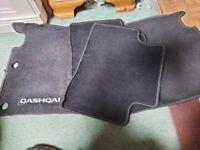 Qashqai original car mats