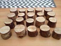 20 X Wood Name card holders