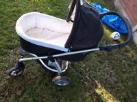 Mamas & Papas Sola 2 in 1 pushchair with babies child seat and adapters