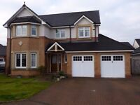 4 Bed House for short term let in Larbert close to hospital