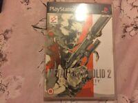 Metal Gear Solid 2 Game 📀
