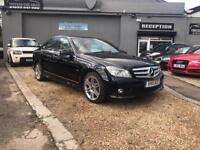 MERCEDES-BENZ C CLASS 2.1 C220 CDI BLUEEFFICIENCY SPORT 4d AUTO 170 BHP (black) 2011