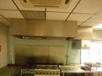 Kitchen Extraction Canopy Stainless Steel
