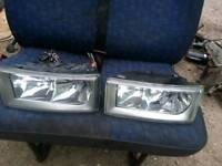 Iveco Daily headlamps, excellent condition
