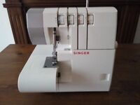 free singer overlock sewing machine to collect, needs repair