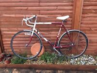 Old Raleigh bike, great working order, 10 speed