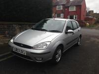 Ford Focus 1.6, 5dr, 90k, service history & 10mth MOT, £575.00
