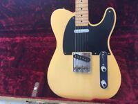 Fender 52 Telecaster American Vintage Reissue Electric Guitar USA Stratocaster 56 57 58 59 62 64 65